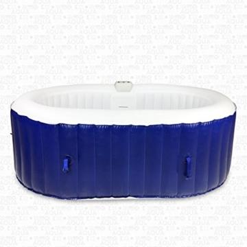 Aquaparx whirlpool ap 550spa oval 190x120cm pool for Gartenpool oval