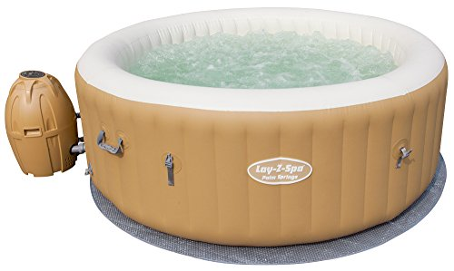 Bestway lay z spa palm springs whirlpool 196 x 71 cm for Gartenpool test 2017