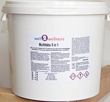 Chlor Multitabs 5in1 200g mit über 93% Aktivchlor – 5,0 kg -