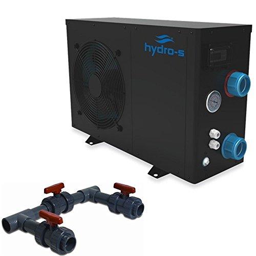 Hydro s w rmepumpe 3 kw 230 v modell bis 15 m mit bypass set by time4wellness gartenpool - Gartenpool aldi ...