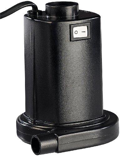 Infactory elektrische luftpumpe f r schnelles auf abpumpen 230v euro stecker gartenpool - Gartenpool aldi ...