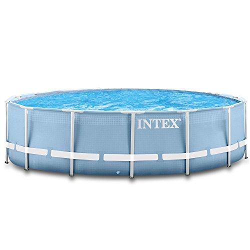 intex 366x122 cm schwimmbecken swimming pool schwimmbad. Black Bedroom Furniture Sets. Home Design Ideas