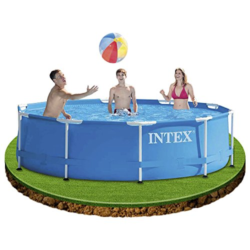 intex swimmingpool von aldi nord im juni 2017 gartenpool. Black Bedroom Furniture Sets. Home Design Ideas