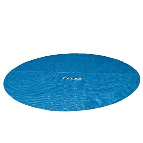 Intex solarabdeckplane f r easy frame pool isolierend blau 366 cm gartenpool - Gartenpool aldi ...