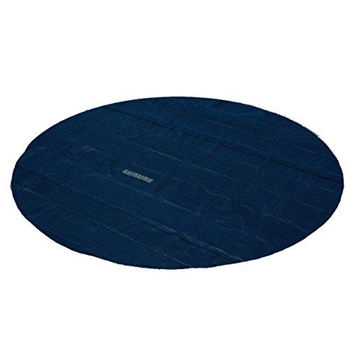 Leisure profi pool solarabdeckplane schwarz blau 366cm gartenpool - Gartenpool aldi ...
