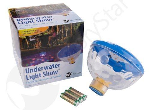 Memorystar unterwasserlichtshow mit 4 led 70055 abschaltautomatik unterwasserlicht poollicht - Gartenpool aldi ...