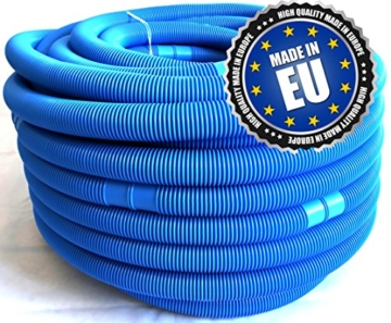Pool, Schwimmbad, Schlauch, blau 32 mm, Gesamtlänge 660 cm, alle 110 cm teilbar, -